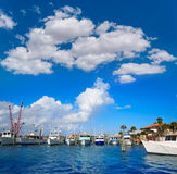 Daytona plaża w Floryda od Portowej pomarańcze USA Fotografia Royalty Free