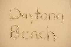 Daytona Plaża Zdjęcia Stock