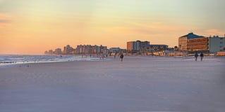Daytona plaża, Floryda, usa linia horyzontu Obraz Stock