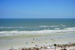 Daytona plaży fala Zdjęcie Royalty Free