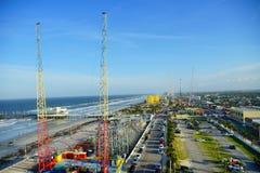 Daytona plaży miasta widok Zdjęcia Stock