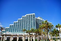Daytona plaży oceanview hotel Obrazy Royalty Free