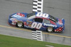 Daytona 2007 500 qualifiant images libres de droits