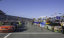 Daytona speedway Royaltyfria Foton