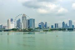 Dayview av den Singapore reklambladet på Oktober 31, 2015 i Singapore Royaltyfria Bilder