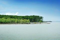 Dayview av Tanjung Piai Fotografering för Bildbyråer