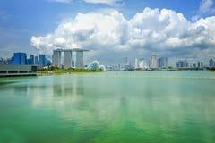 Dayview of Marina Bay Sands Resort Hotel Royalty Free Stock Photos