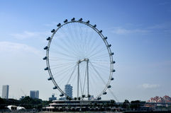 Dayview of the Singapore Flyer Royalty Free Stock Photography