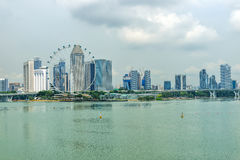 Dayview of the Singapore Flyer on October 31, 2015 in Singapore. Royalty Free Stock Images
