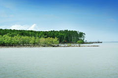 Dayview of Tanjung Piai Stock Image