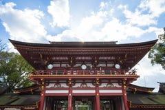 Dazaifu寺庙在福冈,日本 免版税图库摄影