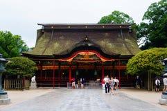 Dazaifu寺庙 库存照片