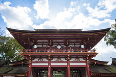 Dazaifu relikskrin i Fukuoka, Japan Royaltyfri Fotografi