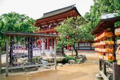 Dazaifu Tenmangu寺庙在福冈,日本 免版税库存图片
