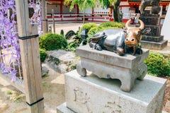 Dazaifu Tenmangu寺庙在福冈,日本 图库摄影