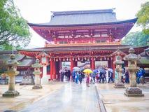 Dazaifu Tenmangu relikskrin Royaltyfria Bilder