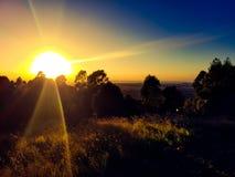 Daze. Sunrise @ the panorama royalty free stock images