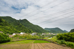 Dazhang山 免版税库存图片