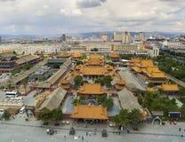 Dazhao寺庙内蒙古瓷 免版税图库摄影