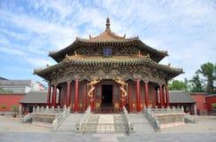 Dazheng Hall, Cesarski Shenyang Pałac, Chiny Obraz Royalty Free