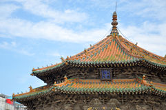 Dazheng Hall, palais impérial de Shenyang, Chine images libres de droits