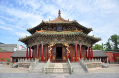 Dazheng Hall, Shenyang Imperial Palace, China Royalty Free Stock Image