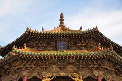 Dazheng Pasillo, palacio imperial de Shenyang, China Fotos de archivo libres de regalías