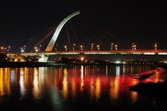 Dazhi桥梁在台北,台湾 库存照片