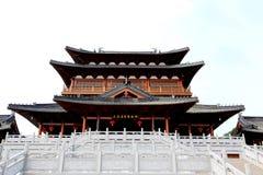 Dazu岩石雕刻,重庆,瓷 图库摄影