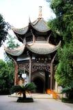 Dazu岩石雕刻,重庆,瓷 免版税图库摄影