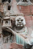 Dazu Bao Ding Mountain Rock Carvings stock images