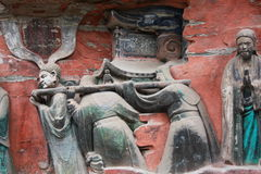 Dazu Bao Ding Mountain Rock Carvings Royalty Free Stock Images
