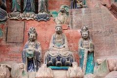 Dazu Bao Klingeln-GebirgsfelsenCarvings Stockfoto