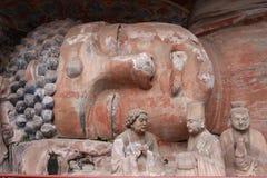 dazu carvings стоковая фотография