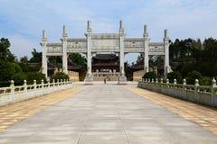Dazu hällristningar, chongqing, porslin Royaltyfri Fotografi