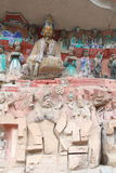 Dazu Rock Carvings. The Dazu Rock Carvings (Chinese: 大足石刻; pinyin: Dàzú Shíkè) are a series of Chinese religious sculptures and carvings, dating back Stock Photography