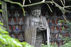 Dazu Rock Carvings. In Chongqing, China Royalty Free Stock Photography