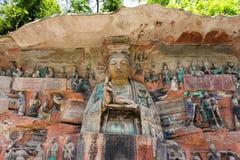 Dazu Rock Carvings. In Chongqing, China Stock Photo