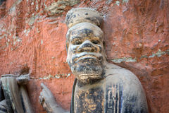 Dazu Rock Carvings. In Chongqing, China Royalty Free Stock Image