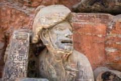 Dazu Rock Carvings. In Chongqing, China Stock Photos