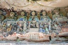 Dazu Rock Carvings. In Chongqing, China Stock Images