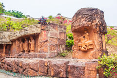 Dazu Rock Carvings of Congqing city,China Stock Images