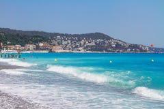 DAzur da costa, França Imagem de Stock Royalty Free