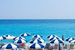 DAzur da costa, França Imagens de Stock