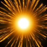 Dazzle Explosion In the Space. Stock Photos