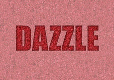 Dazzle with glitter Royalty Free Stock Image
