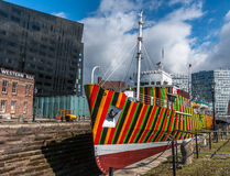 Dazzle Ship Royalty Free Stock Photography