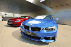 Dazzling Colors of BMW stock photo