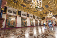 Dazzling interior of Munich Residence Royalty Free Stock Photos