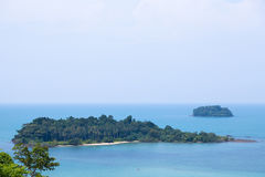Dazzling views of the island Royalty Free Stock Photography